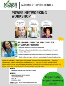 LUNCH & LEARN – POWER NETWORKING WORKSHOP